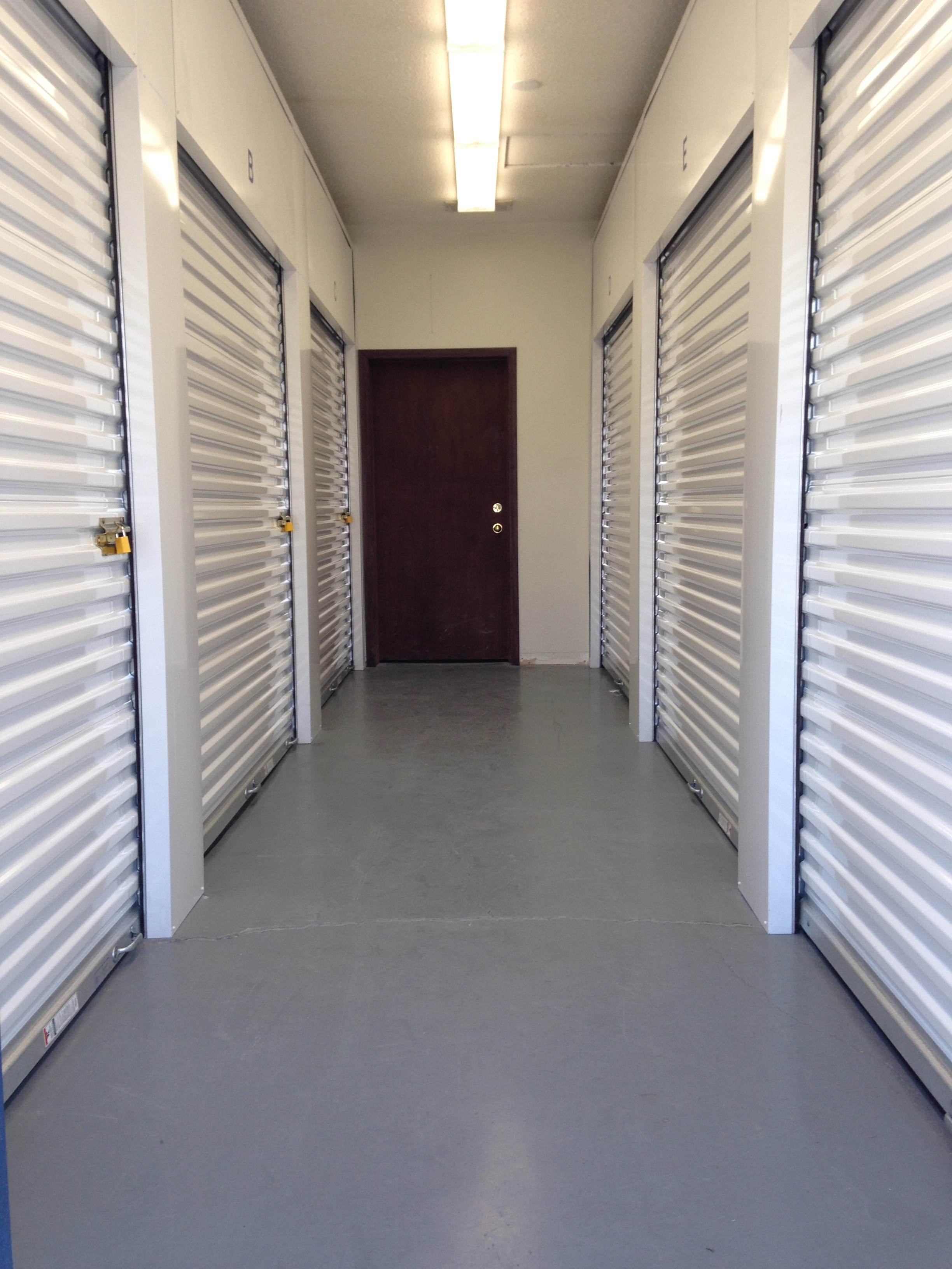 8 X 10 Climate Controlled Storage Units Located In