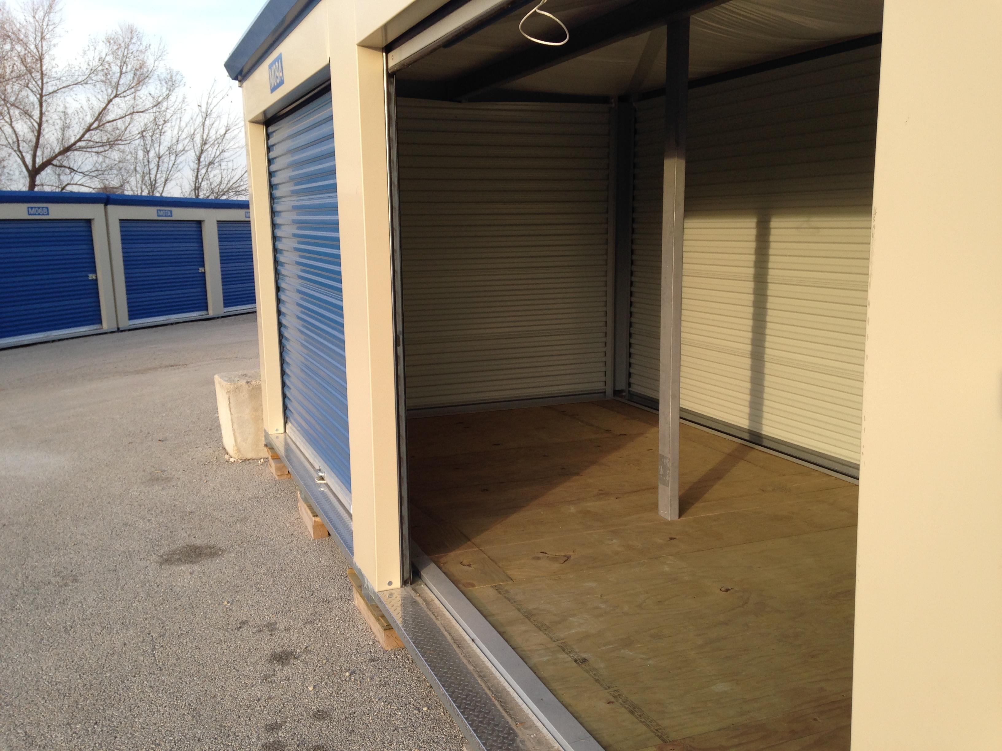 10 X 20 Modular Self Storage Facility In Davenport Iowa