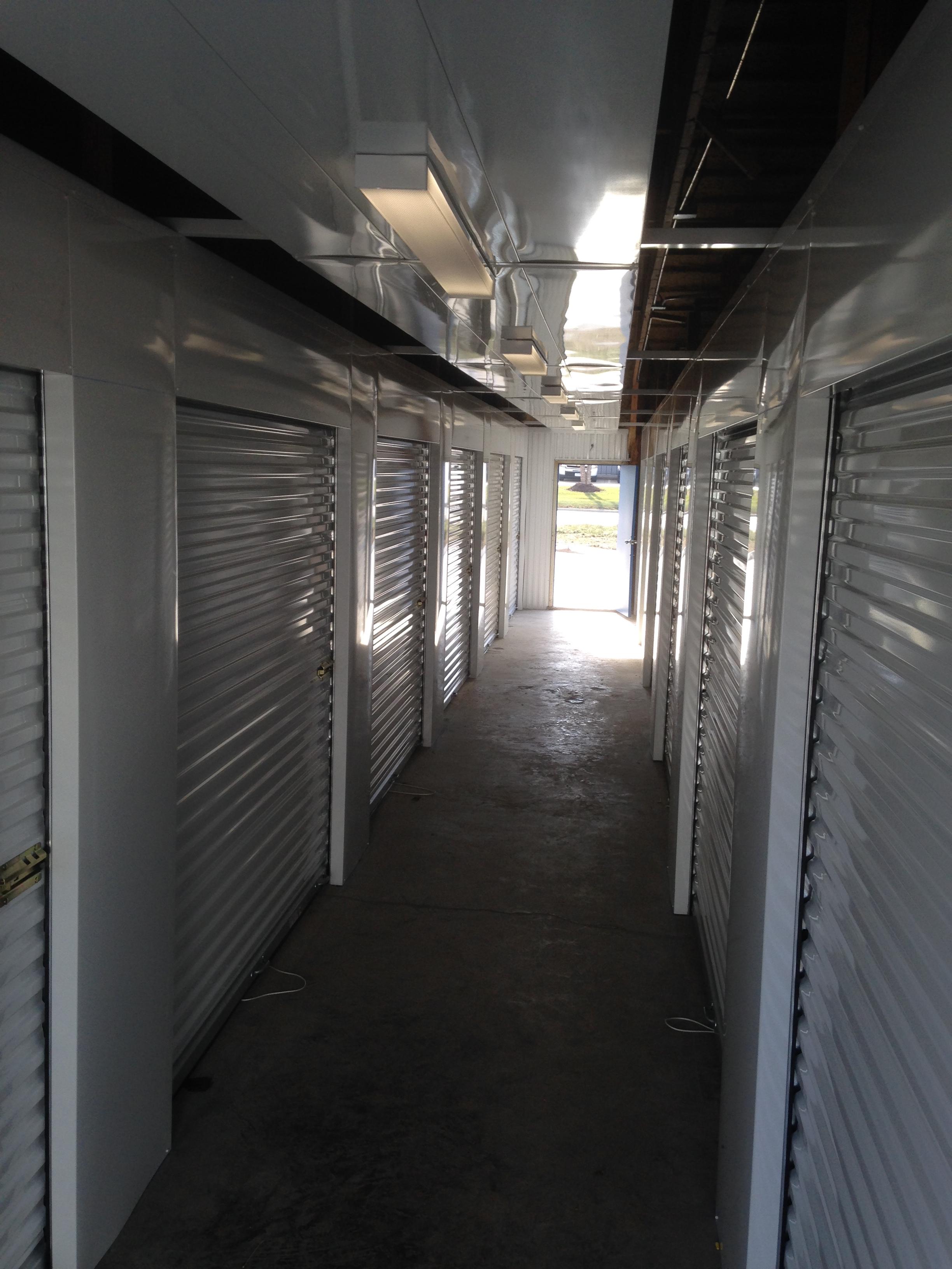 Interior Hallway 24 Hour Self Storage Facility In
