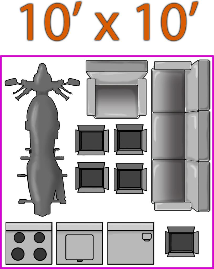 10 X 10 Modular Self Storage Facility In Davenport Iowa